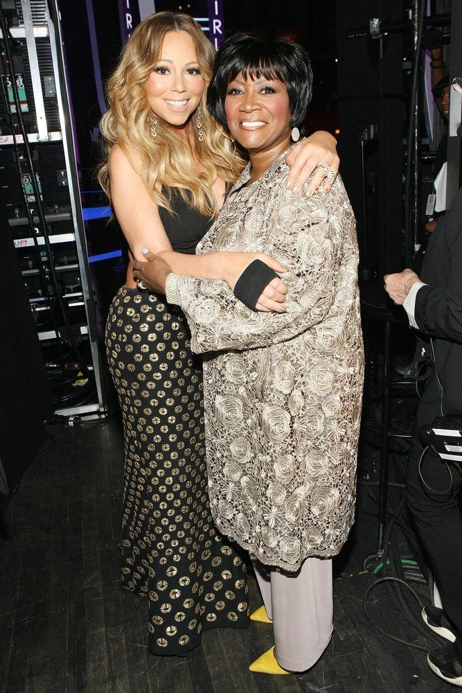 Mariah Carey and Patti LaBelle.
