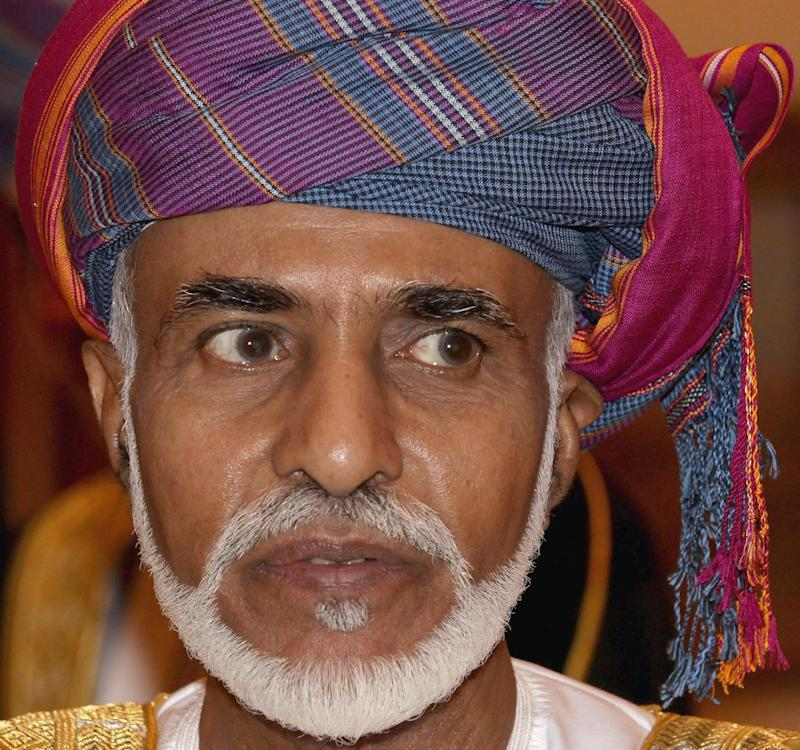File photo dated 26/11/2010 of the Sultan of Oman, His Majesty Sultan Qaboos bin Said who has died aged 79 after suffering from cancer. PA Photo. Issue date: Saturday January 11, 2020. Sultan Qaboos had been in power since 1970, when he took the throne after overthrowing his father, Said bin Taimur, in a British-assisted coup. See PA story DEATH Qaboos. Photo credit should read: Chris Jackson/PA Wire