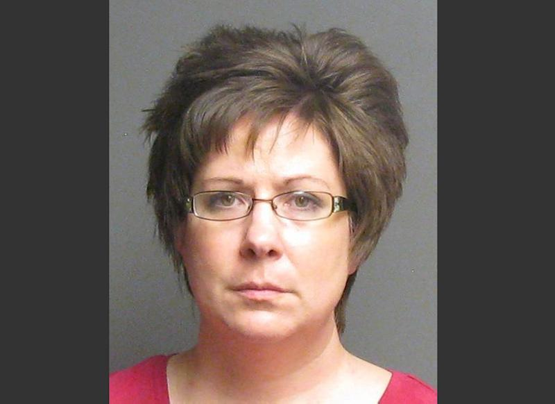 FILE - This file photo released by the Sanilac County Sheriff's Department shows Sara Ylen. Ylen was sentenced to a year behind bars Wednesday, Feb. 19, 2014 in a scam cheating an insurance company and swindling people in small communities who believed she had cancer. (AP Photo/Sanilac County sheriff's department, File)