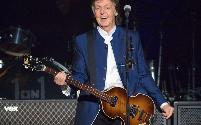 Sir Paul McCartney is among those calling for action on streaming rights - AP