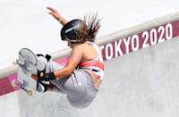 <p>13-year-old Sky Brown made two epic achievements in the skateboarding final: she became the youngest British Olympian to compete at a Summer Games, and then walked away with a bronze medal – making her GB's youngest ever Olympic medallist.</p>