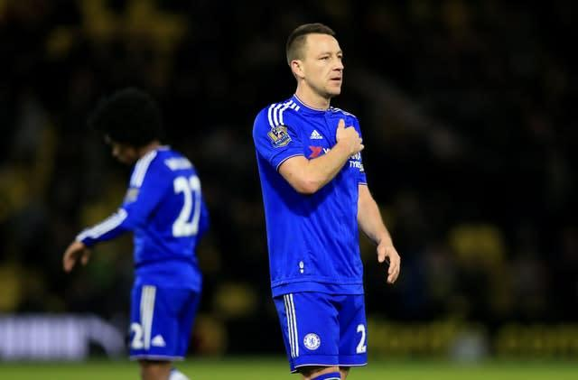 Terry was Chelsea through and through during his playing days (Adam Davy/PA)