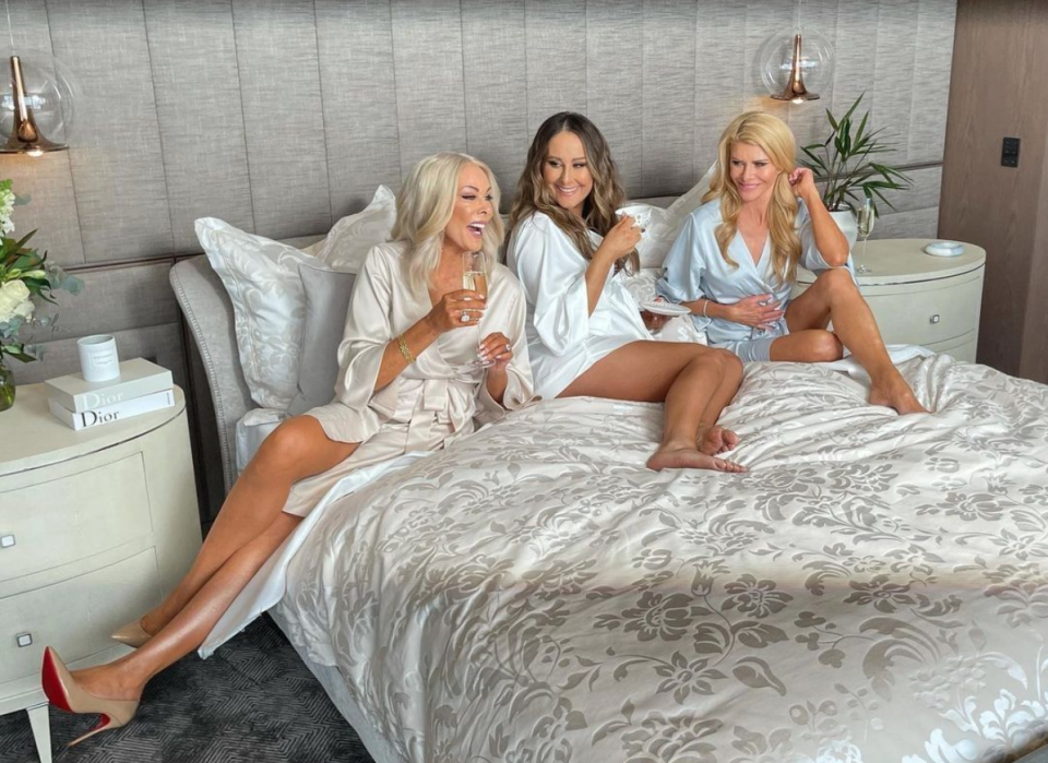 Janet, Jackie and Gamble from The Real Housewives of Melbourne