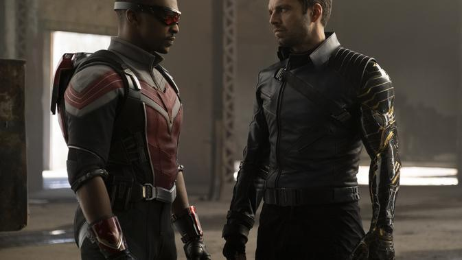 The Falcon and The Winter Soldier. (Marvel Studios)