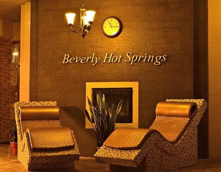 Body Scrub and Body Careat Beverly Hills Hot Springs