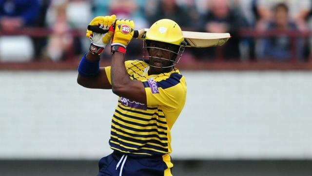 """Michael Carberry is targeting a """"great summer"""" with Hampshire and has expressed his gratitude for the support he has received."""