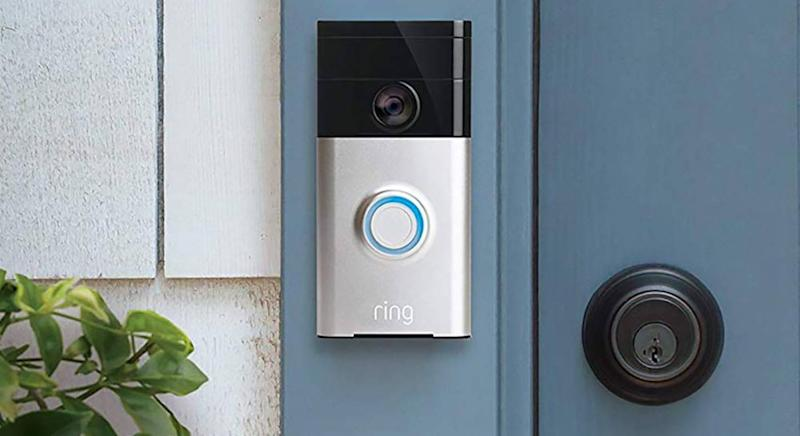 Communicate with delivery drivers and family via a smart doorbell. (Getty Images)