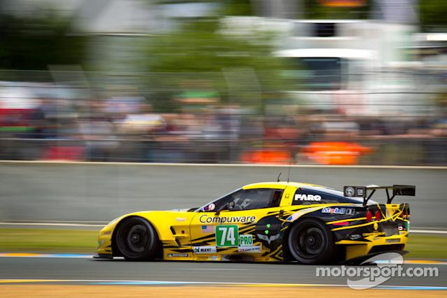 "2012: #74 Corvette Racing Chevrolet Corvette C6 ZR1: Oliver Gavin, Tom Milner, Richard Westbrook <span class=""copyright"">Eric Gilbert</span>"
