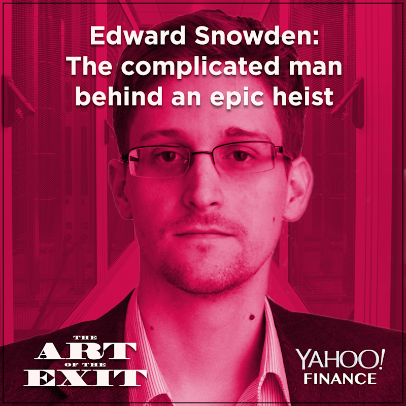 Edward Snowden is a complicated figure. (Graphic: David Foster/Yahoo Finance)