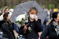 The country entered a period of national mourning and condolences poured in from around the world