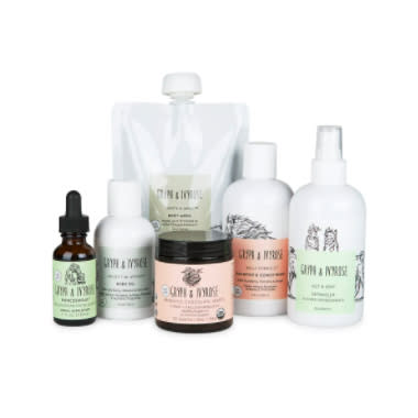 gryph ivy rose bath set, saks friends and family sale