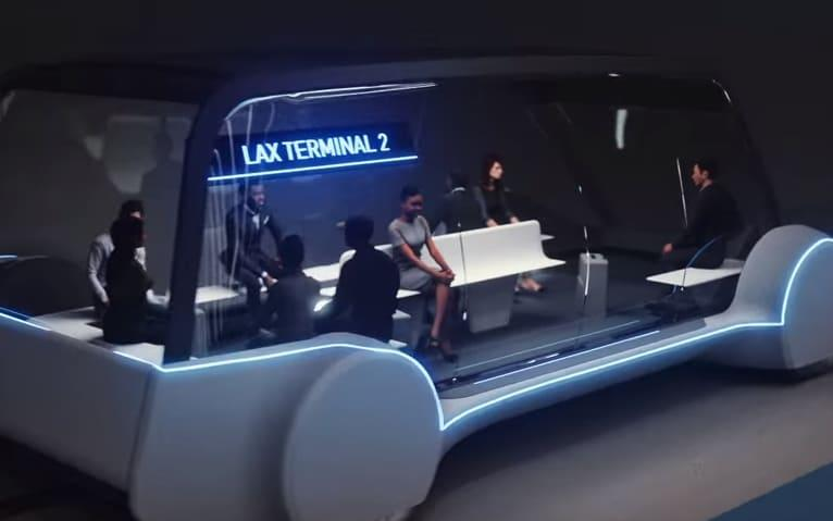 The company says the tunnel will help to ease 'soul-destroying traffic' around LA - Boring Company/Boring Company