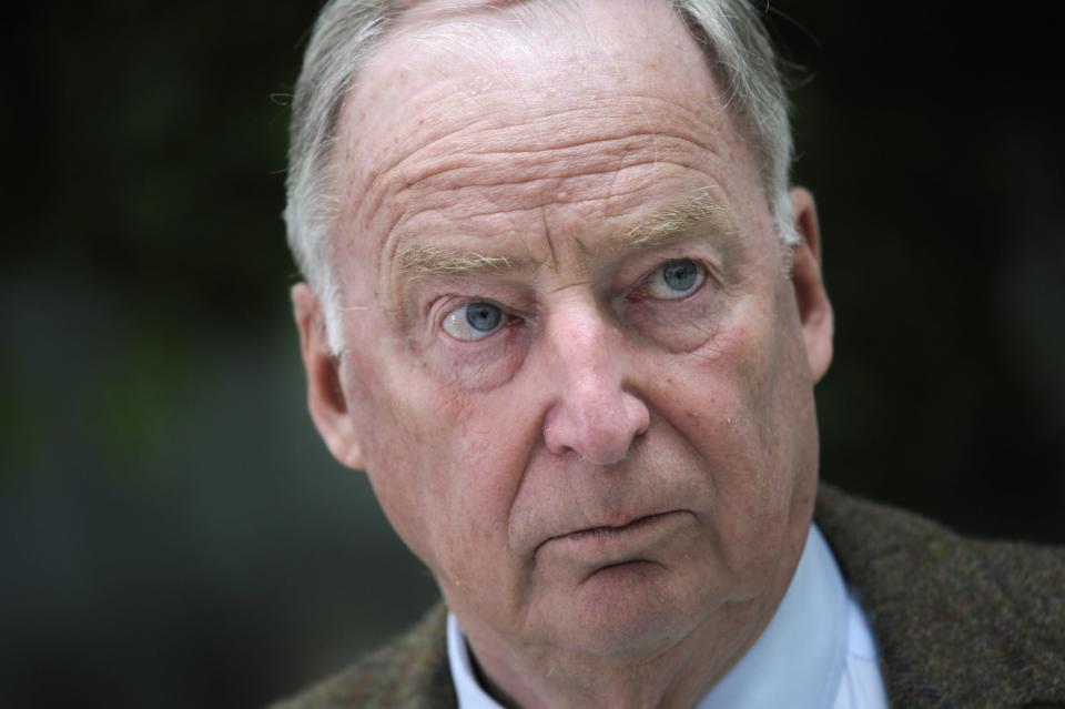 Alexander Gauland, a top candidate of the anti-immigration party Alternative fuer Deutschland (AfD) (REUTERS/Stefanie Loos)