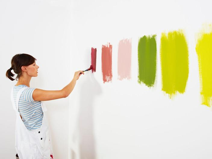 paint painting paint brush home improvement wall house