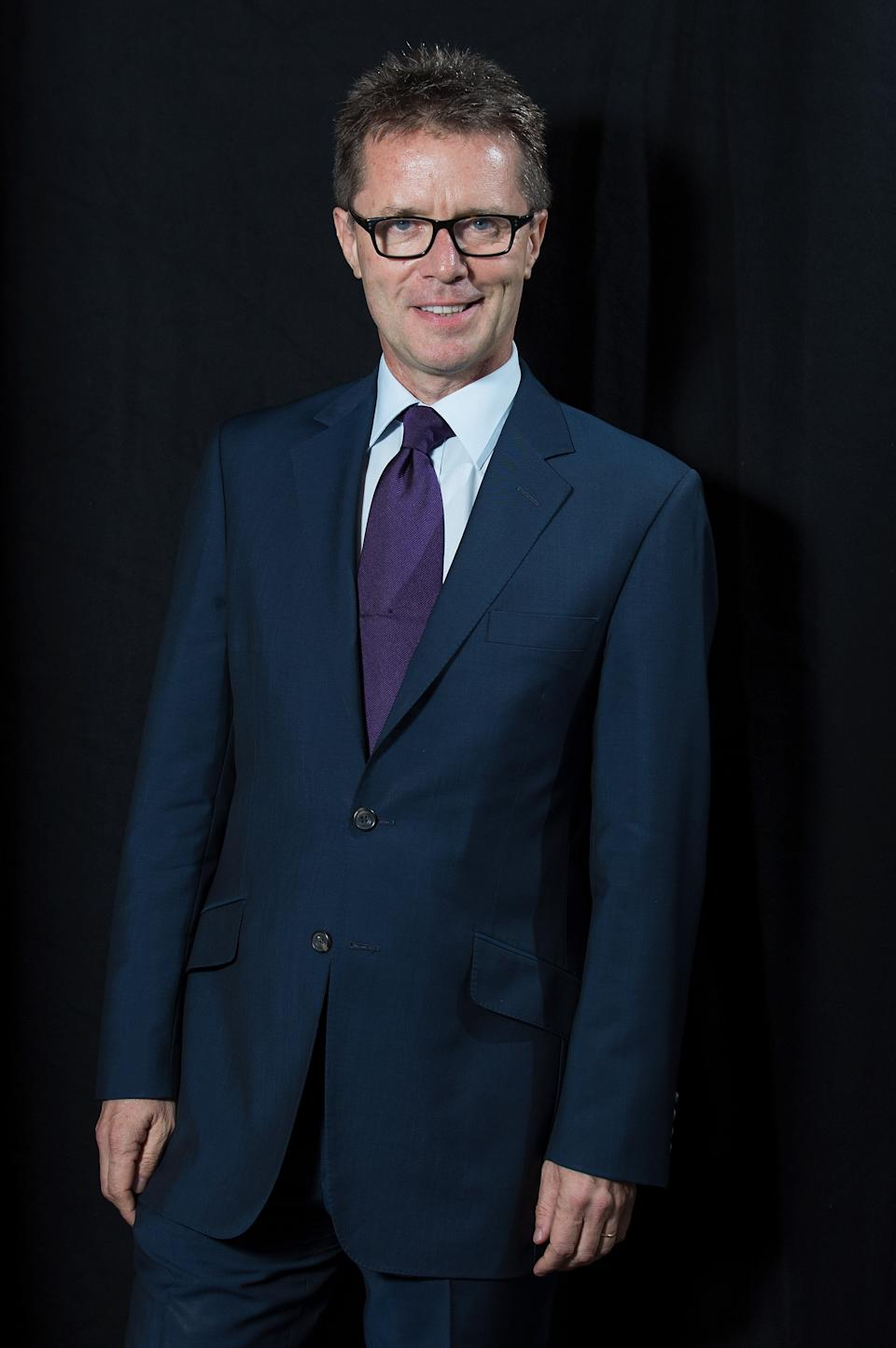 Nicky Campbell said he was in bed for two days. (Photo by Dave J Hogan/Dave J Hogan/Getty Images)