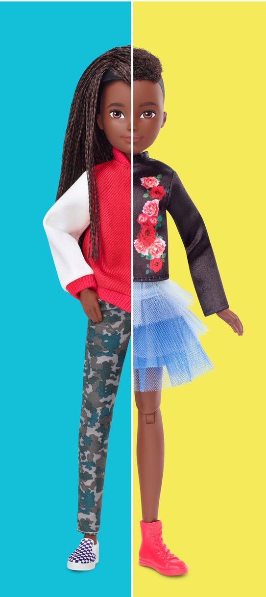 The new dolls come in a range of skin tones [Photo: Mattel]