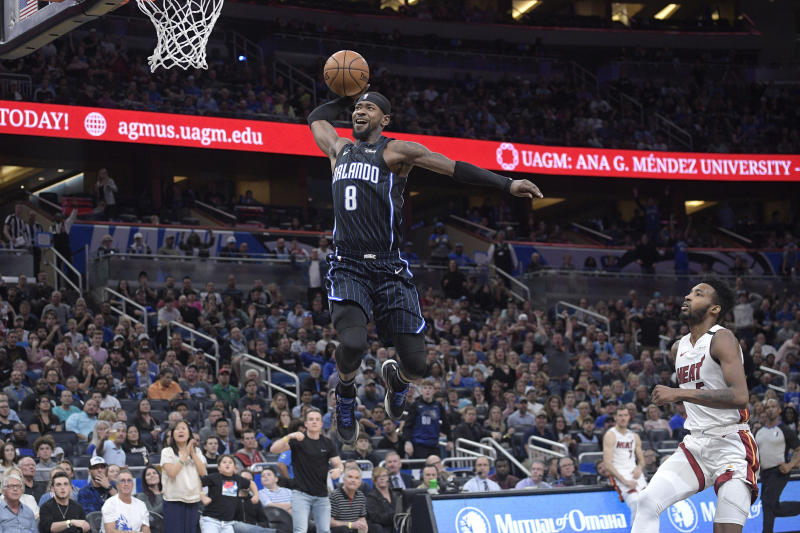 Magic hold Heat to 6 points in 4th quarter in 105-85 win