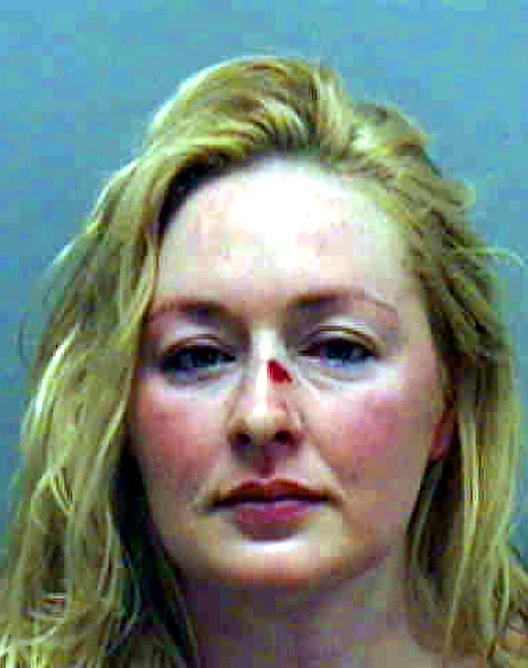 """Country music star Mindy McCready was arrested on July 23, 2007 on assault charges. <a href=""""http://www.splashnewsonline.com"""" target=""""new"""">Splash News</a> - July 23, 2007"""