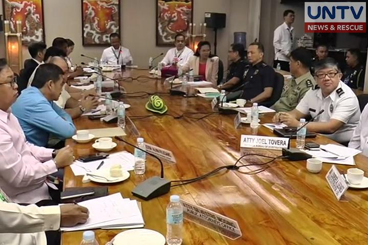 Inter-Agency Committee on Anti-Illegal Drugs meeting