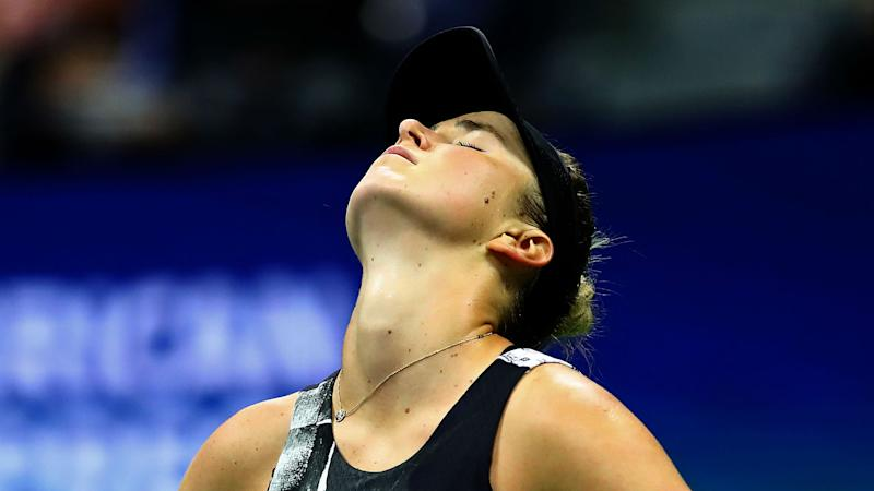 US Open 2019: 'If you don't take it, she grabs it