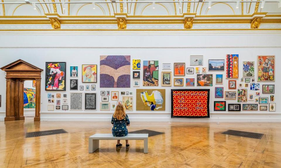 Every exhibit is worth looking at ... the summer show.