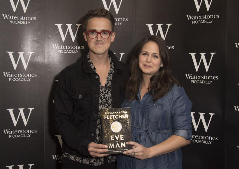Giovanna Fletcher has spoken out about bump-shaming and why it needs to stop [Photo: Getty]