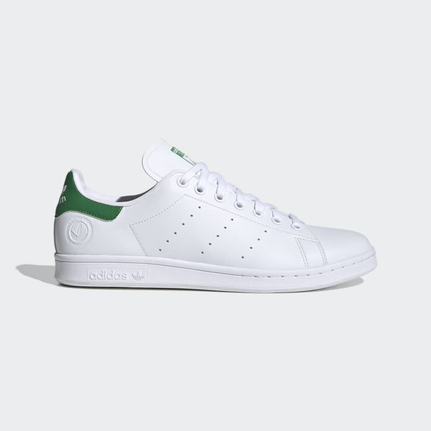 STAN SMITH VEGAN SHOES Cloud White / Green / Cloud White