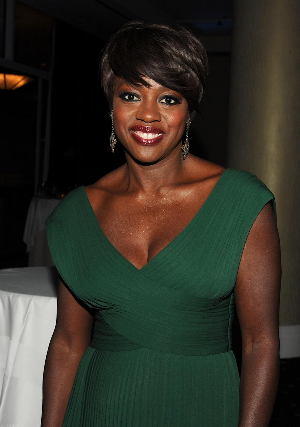 """Viola Davis is nominated for her role as African-American maid Aibileen Clark in """"The Help."""" (Photo by Kevin Winter/Getty Images For PGA)"""