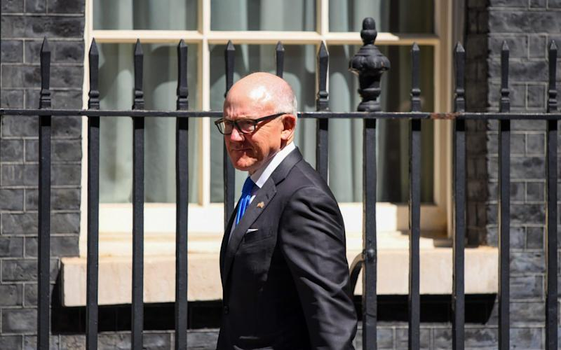 Woody Johnson has denied the allegations against him - Chris J. Ratcliffe/Bloomberg