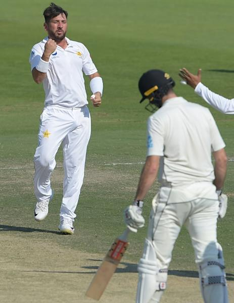 Pakistani spinner Yasir Shah was fastest to 200 Test wickets