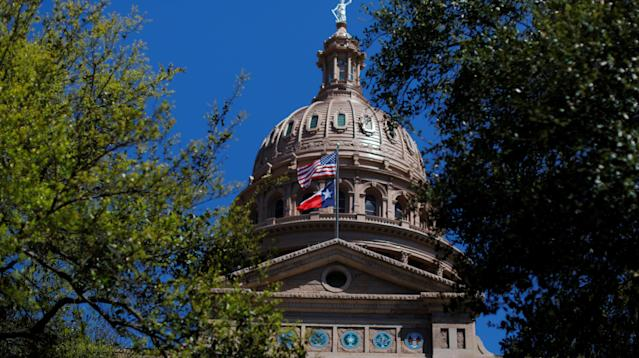 A civil rights group is threatening to sue Texas if state election officials fail to accommodate tens of thousands of displaced residents in elections next month.