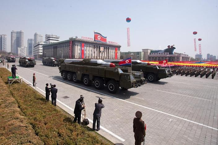 South Korea and Japan share common concerns about growing threats from nuclear-armed North Korea (AFP Photo/Ed Jones)