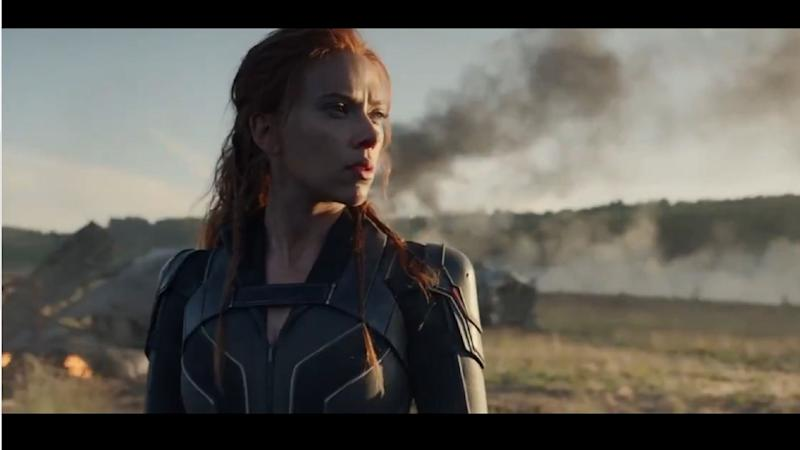 Scarlett Johansson S Natasha Romanoff Returns In First Black