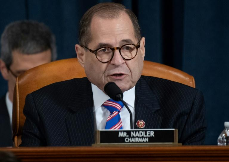 House Judiciary Committee Chairman Jerry Nadler is overseeing the next phase in the impeachment inquiry of US President Donald Trump, who stands accused of abusing his office for his own political gain (AFP Photo/SAUL LOEB)