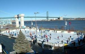 The Blue Cross RiverRink at Penn's Landing Re-Opens for 19th Season