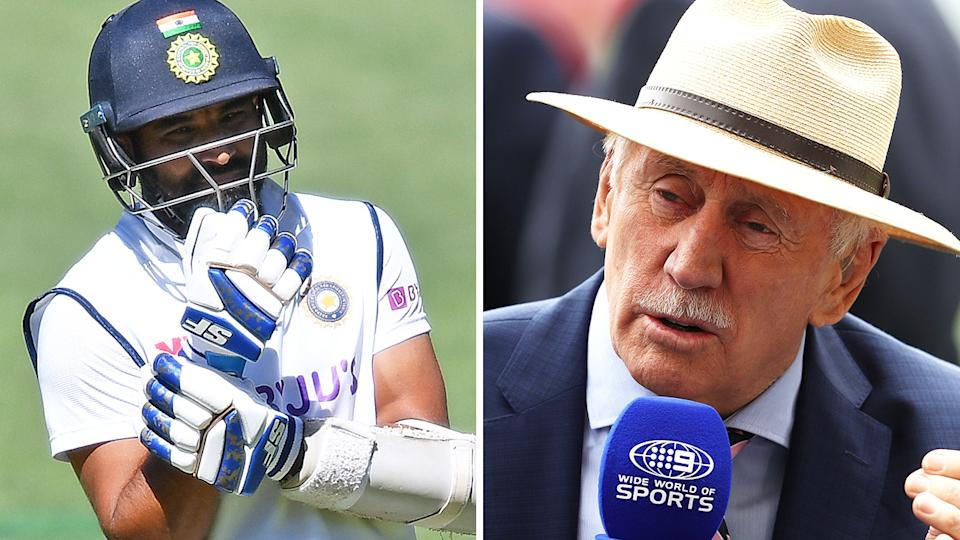 After Mohammed Shami's broken arm, former Australian captain Ian Chappell says umpires should do more to prevent unnecessary short bowling at tailenders. Pictures: Getty Images