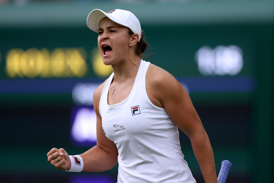 World number one will be tested against Angelique Kerber in the Wimbledon semi-final (PA Wire)