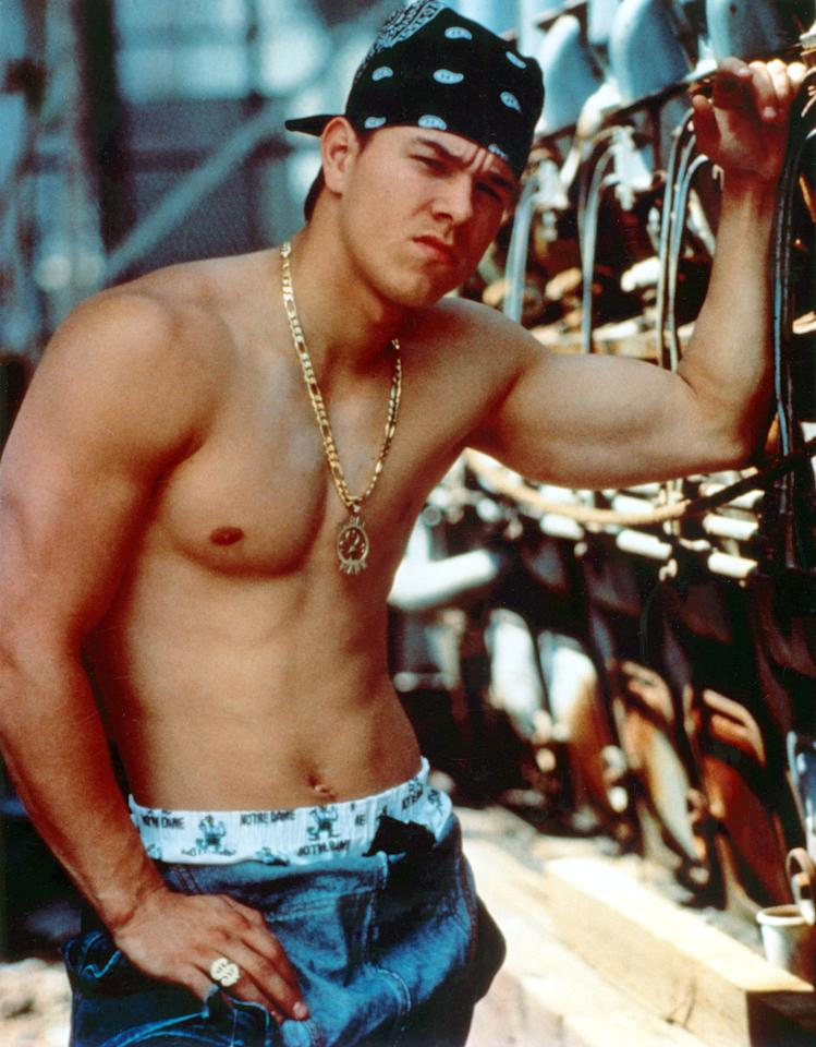 <p>To channel Marky Mark and the Funky Bunch, he won't need much - just a colorful baseball hat, baggy black jeans, a belt to hold them up, plus some white boxer briefs.</p>