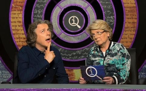 Sandi Toksvig wields the QI questions