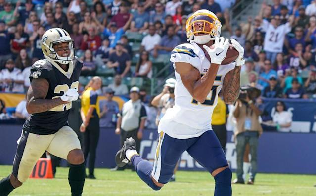 Whicker: Chargers' Andre Patton takes a step toward Sunday