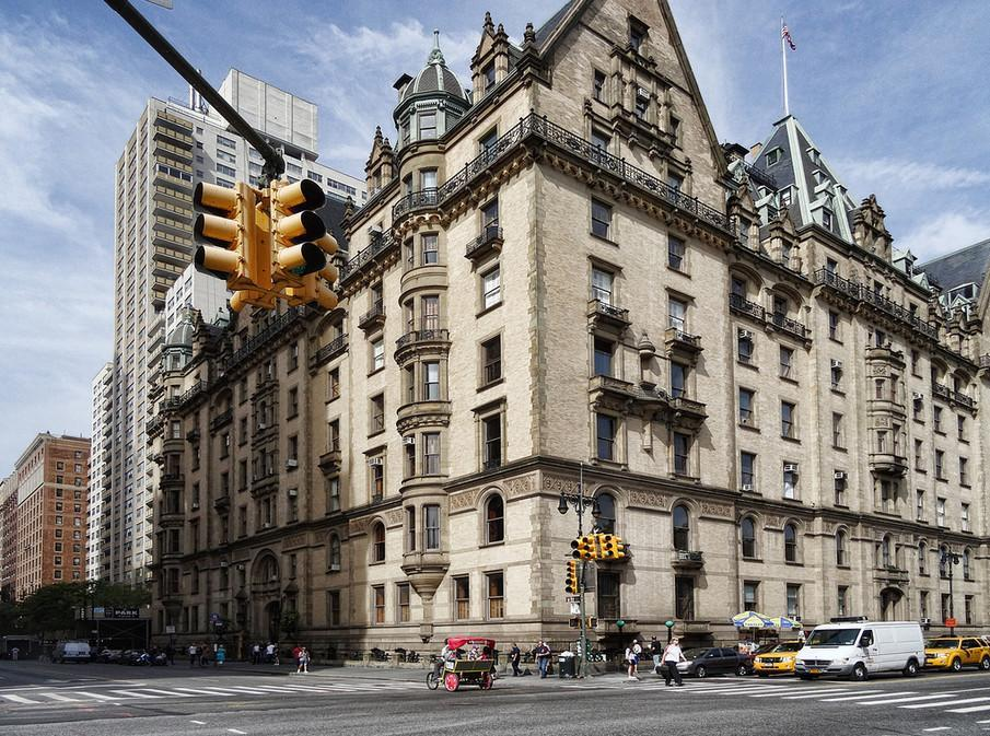 An exterior of The Dakota apartment building, located on Central Park West in Manhattan, New York City. (Photo courtesy of StreetEasy)