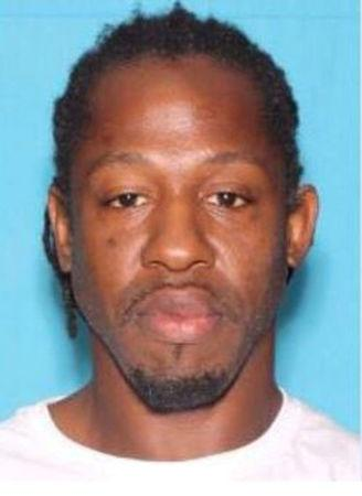 Markeith Loyd, wanted in connection with the shooting death of an Orlando police officer, is shown in this undated booking photo in Orlando, Florida released January 9, 2017.  Courtesy Orlando Police Department/Handout via REUTERS