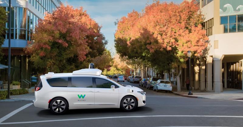 Alphabet tests a new use for self-driving cars: to get you to the bus stop
