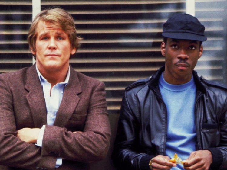 Nick Nolte and Eddie Murphy in '48 Hrs.'