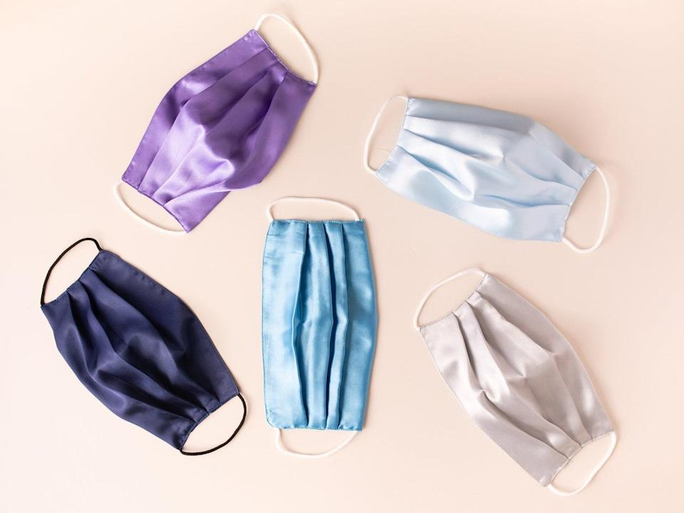 <p>Look fabulous whenever you go out with the <span>Breathable Silk Satin Face Mask</span> ($9 for one, $25 for three). It's lightweight and breathable soft silk material not only feel comfortable on the skin but also looks gorgeous. It's double layered as well. It comes in a variety of colors.</p>