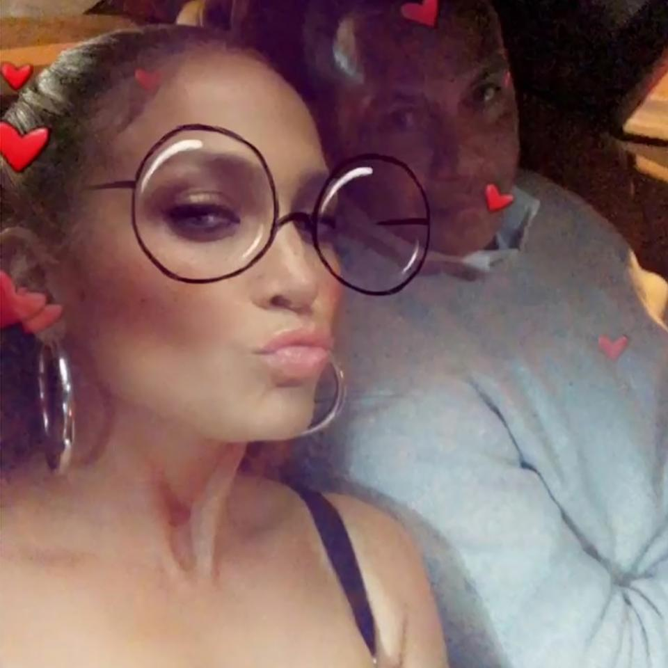 """<p>""""I hope everyone got lots of sweet Valentine's Day [kisses],"""" Lopez <a rel=""""nofollow"""" href=""""https://www.instagram.com/p/BfNG7mJlbDU/?hl=en&taken-by=jlo"""">captioned her too-cute video</a> with boyfriend Rodriguez.</p>"""