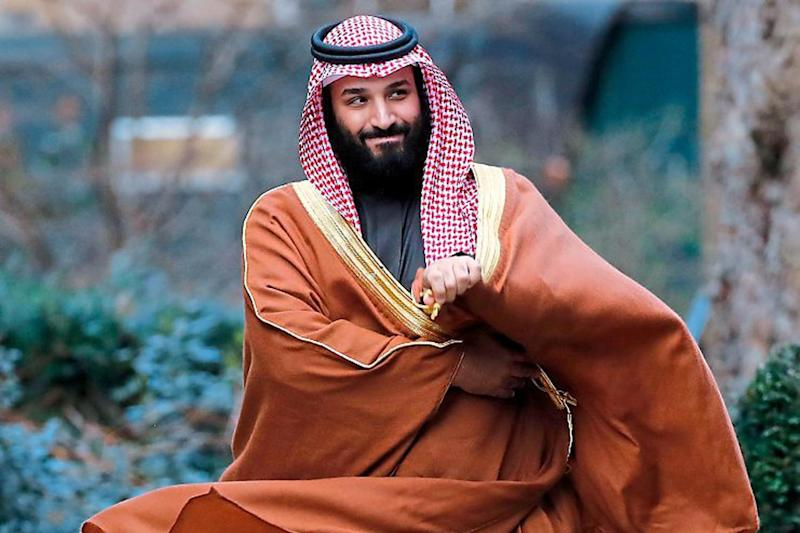 Delay: The Crown Prince of Saudi Arabia, Mohammed bin Salman, was in London last week: Getty Images