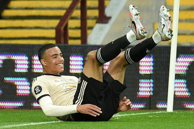 Teenage dream: Mason Greenwood scored his fourth goal in three games for Manchester United (AFP Photo/Oli SCARFF )