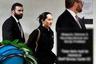 Huawei Chief Financial Officer Meng Wanzhou leaves B.C. Supreme Court following her extradition hearing in Vancouver