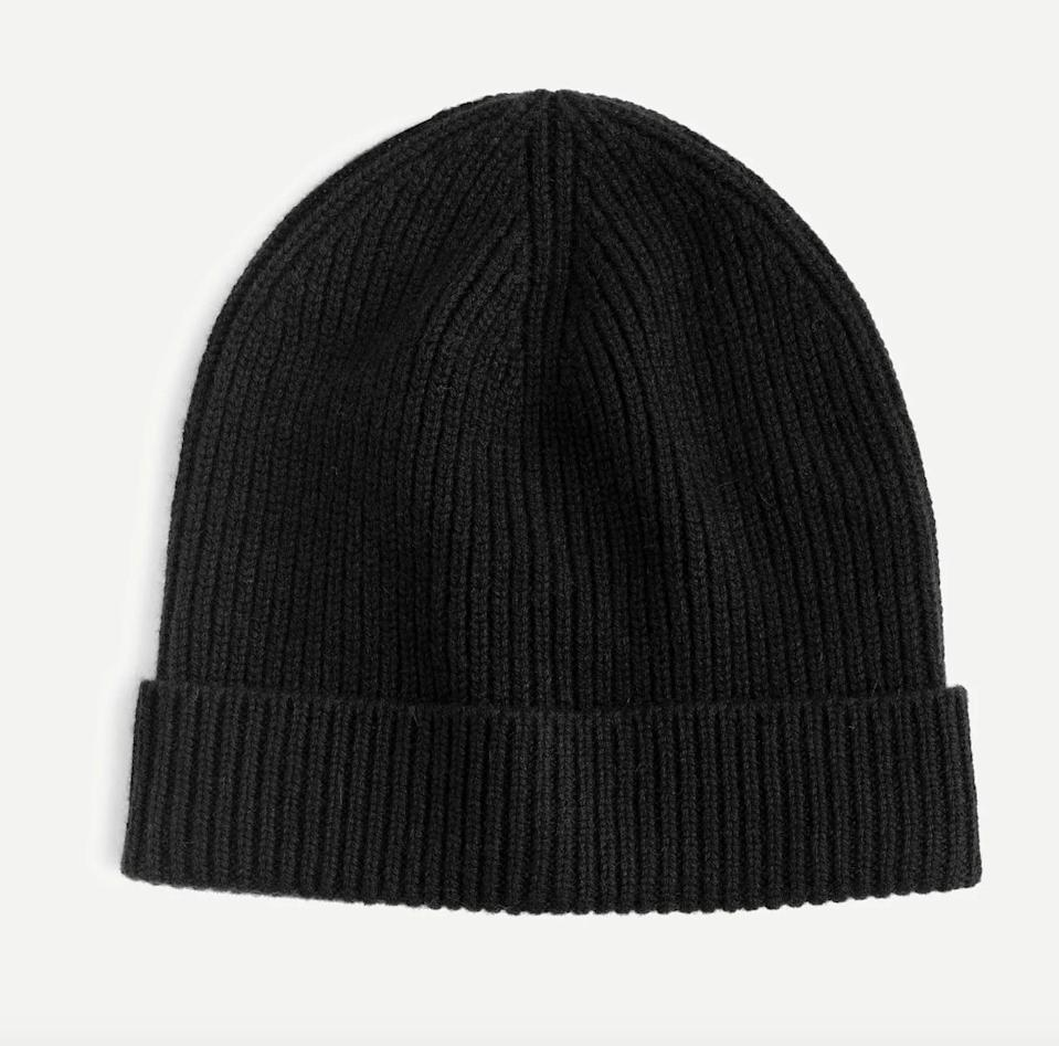 """<p><span>J.Crew Cashmere Hat</span> ($70)</p> <p>""""This is the fail-safe, practical gift that literally anyone will appreciate. It's cozy, warm, and luxurious, all without breaking the bank. Trends come and go, but this is a forever piece."""" - IY</p>"""